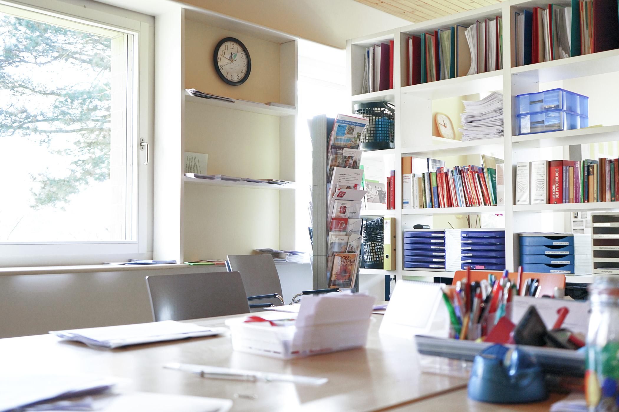 Das Büro des Spitex-Vereins Bettlach.