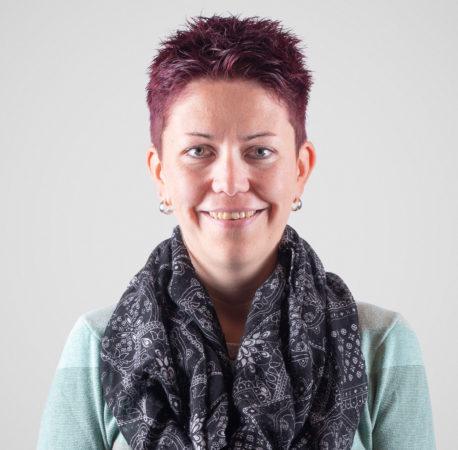 Portrait von Andrea Henzi, Spitexleiterin.