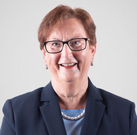 Portrait von Lotty Sannwald, Präsidentin.
